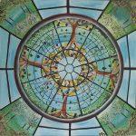 Mandala inspirado en una cúpula de una galería francesa